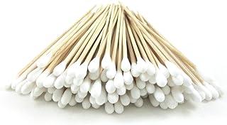 "200 Pc Cotton Swab Applicator Q-tip Swabs 6"" Extra Long Wood Handle Sturdy New !"