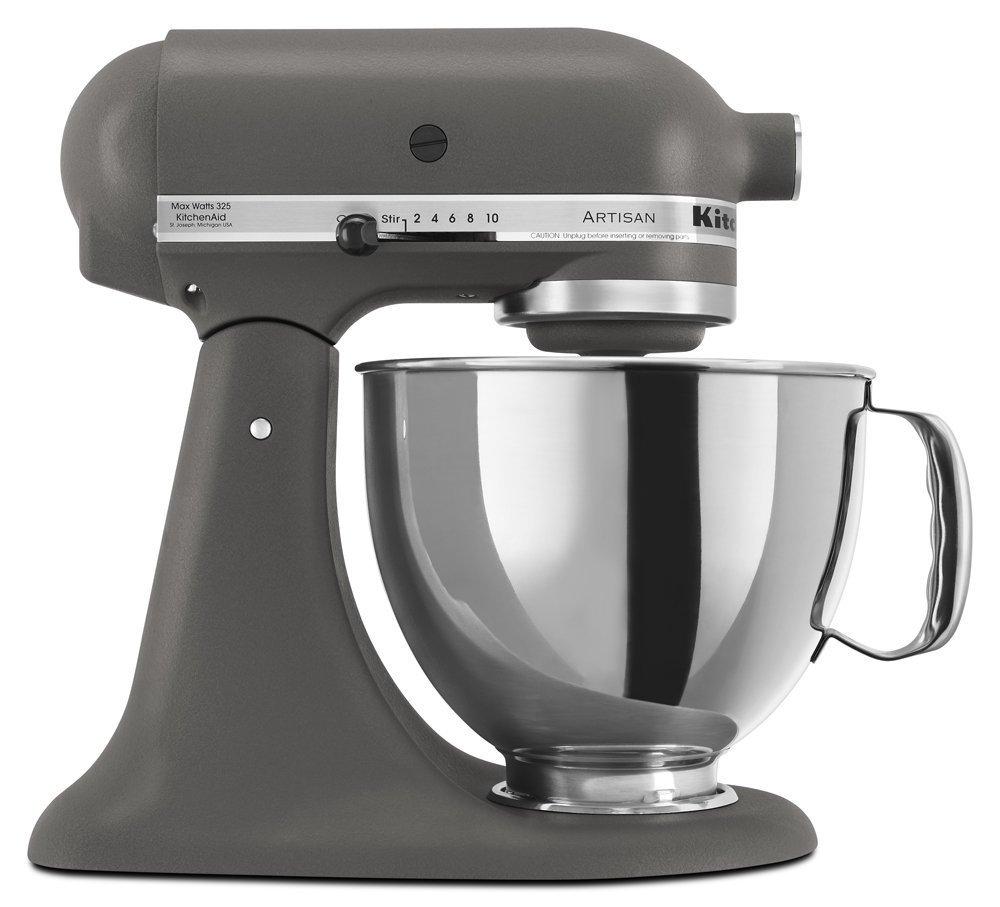 Kitchen Aid Artisan 5KSM150 Imperial Grey - Grifo mezclador para cocina (compatible con enchufes ACUPWR, no funciona en salidas de EE. UU./ANADA, fabricado para 220 / 240 V, color gris imperial): Amazon.es: Hogar