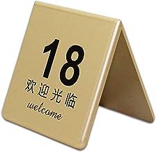 Tabel Nummerplaat, ABS Plastic Restaurant Place-nummerplaat, Geschikt Voor Bruiloft, Feest, Evenement Of Catering Decorati...