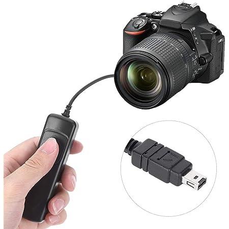 Mcoplus Disparador remoto sustituto de Canon RS-60E3 para c/ámaras Canon compatible con Canon EOS 1000D, 100D, 1100D, 300D, 350D, 400D, 450D, 500D, 550D, 600D, 60D, 60Da, 650D, 700D