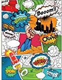 Make your own comic book (for kids): Build and design your own comic book using blank cartoon pages: Or build your own book by drawing your own cartoons (Make your own comic books)