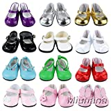 Miunana 5 Pares Zapatos Lona Casuales Lindo Diferentes Tipos Botas Vestir Fiesta...