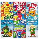 Regal Games Holiday Kids Card Games Edition Including Old Maid, Go Fish, Slapjack, Crazy 8's, Snowball Fight, Holiday Monster Memory Match