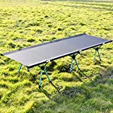 <span class='highlight'><span class='highlight'>yorten</span></span> Portable Foldable Camping Cot Single Person Outdoor Folding Bed 120KG Bearing Weight Compact for Outdoor Hiking Backpacking Picnic Camping
