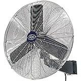Oscillating Wall Mount Fan, 30' Diameter, 1/3hp, 8775cfm