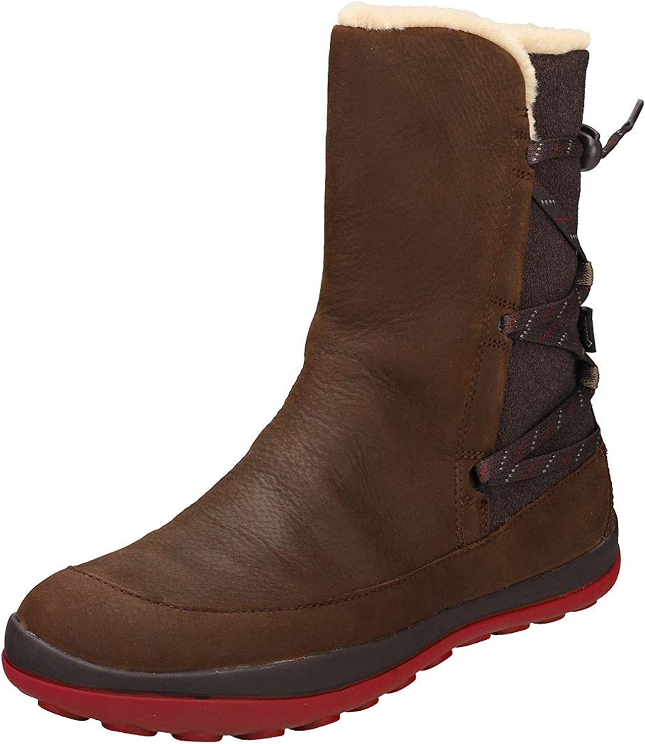 Camper Womens Peu Pista Leather-Textile Boots