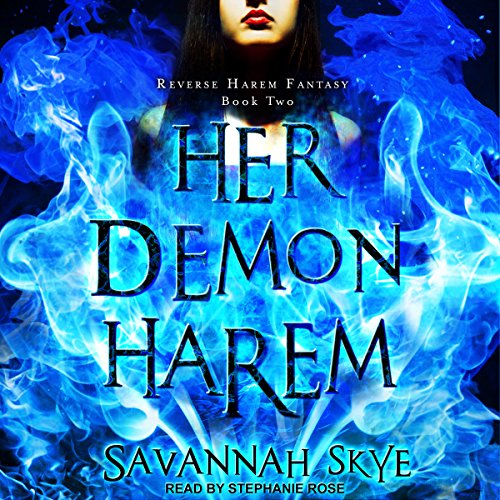 Her Demon Harem - A Reverse Harem Paranormal Romance audiobook cover art