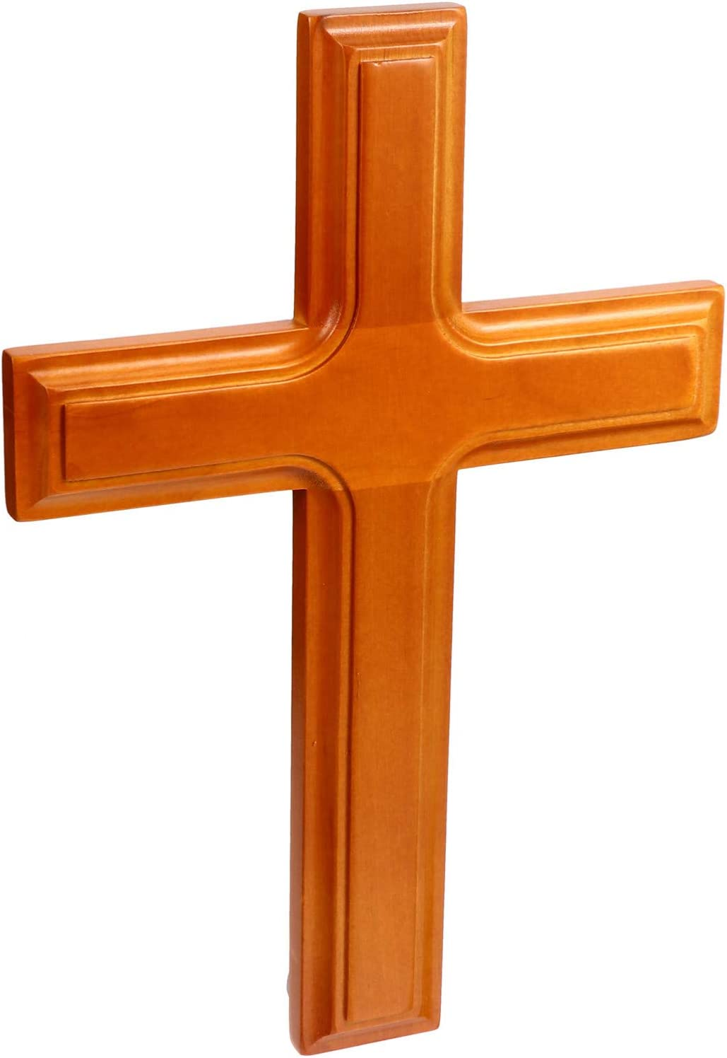 HEALLILY Wooden Cross Wall Opening large release sale Decoration Crosses Max 82% OFF Prayer B Christian