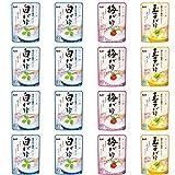 【Amazon.co.jp限定】 キユーピー おかゆセット 白がゆ多め 3種 【セット買い】