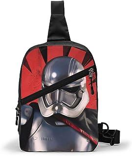 Hdadwy Mandalorian JediKnight Sling Bag para hombres, mujeres, paquetes de viaje, mochila en el pecho, bandoleras, bandole...