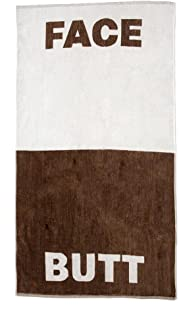 Lady Sandra Home Fashions The Face/Butt Towel by 100% Cotton Beach or Bath Towel 30
