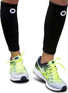 آستین بلندی مردانه و زنانه (جفت) - پشتیبانی فوری شین اسپلینت، جراحات پا، درد کمر درد، راه رفتن، گردش خون و جوراب های بازیابی - آستین فشرده سازی ویژه برای گوساله ها