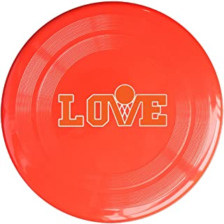 AOLM NO.0 Basketballl Player Love Basketball Outdoor Game Frisbee Sport Disc Yellow