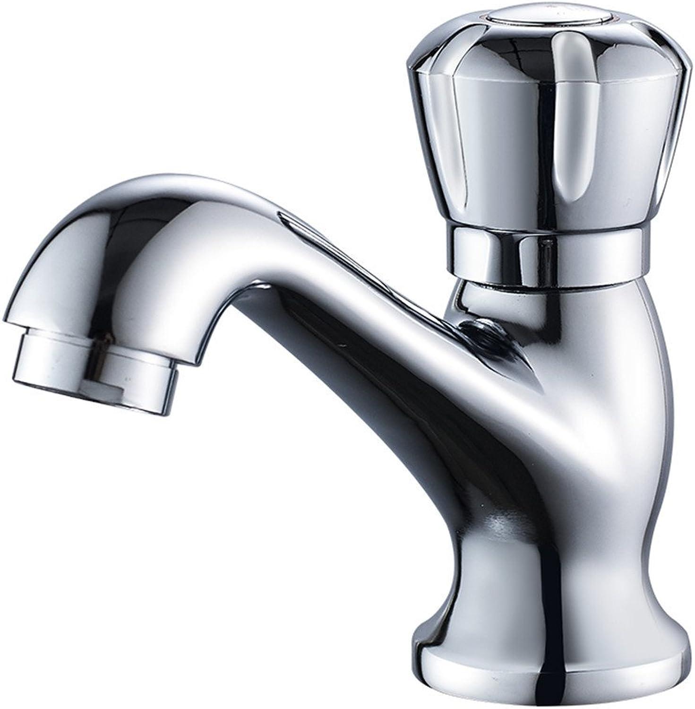 SADF Faucet Single Cold Copper Main Body Quick Open Single Handle Single Basin Washbasin Washbasin Mixer