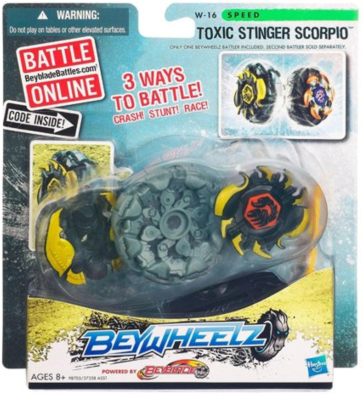 para proporcionarle una compra en línea agradable Hasbro Beyblade Beywheelz Battlers [Toxic Stinger Scorpio] Scorpio] Scorpio]  mejor calidad