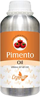 Crysalis Pimento Oil 100% Natural Pure Undiluted Uncut Essential Oil 2000ml