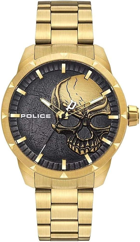 POLICE Juego de joyas Hombre acero inoxidable - PL15715JSG.78M