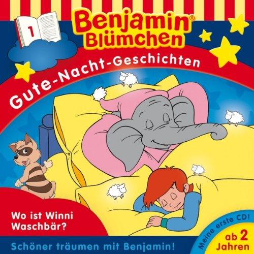 Wo ist Winnie Waschbär? audiobook cover art