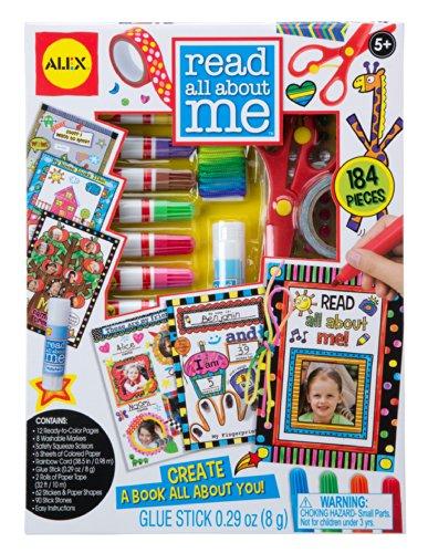 Read All About Me Kit de livre d'activités pour journal personnel