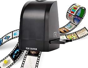 $128 » DYHQQ Mini Digital Film & Slide Scanner – Converts 35mm, 135mm Film Negatives & Slides to JPEG Images Supports Windows XP/...