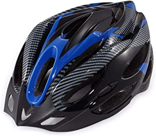 XIUFEN Unisex Blue Black Cycling Riding Helmet Universal Nonintegrated Molding Helmet