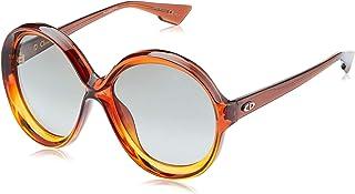 نظارة ديوربيانكا 9O الشمسية للنساء من كريستيان ديور - بني (برتقالي بني ورمادي) - 12J 58