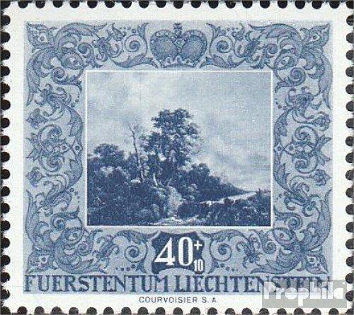 Prophila Collection Liechtenstein 303 1951 Werke holländischer Meister (Briefmarken für Sammler) Malerei