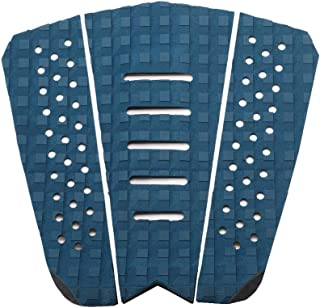 Halo waterman Surf Traction Pad 3 Piece Stomp Pad for Surfing and Skimboarding with 3M Adhesive, Fits All Boards - Surfboards, Shortboards, Longboards, Skimboards