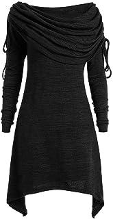 TWIFER Sommer Damen T-Shirt Gedruckt Langarm Tee Shirt Tops Shirt Bluse