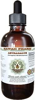 Astragalus Alcohol-FREE Liquid Extract, Organic Astragalus (Astragalus membranaceus) Dried Root Glycerite Hawaii Pharm Natural Herbal Supplement 2 oz