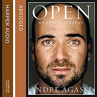 Open     The Autobiography              By:                                                                                                                                 Andre Agassi                               Narrated by:                                                                                                                                 Erik Davies                      Length: 6 hrs and 28 mins     323 ratings     Overall 4.5