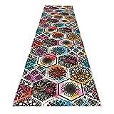 Alfombra colorido floral corredor alfombra entrada estera sala de...