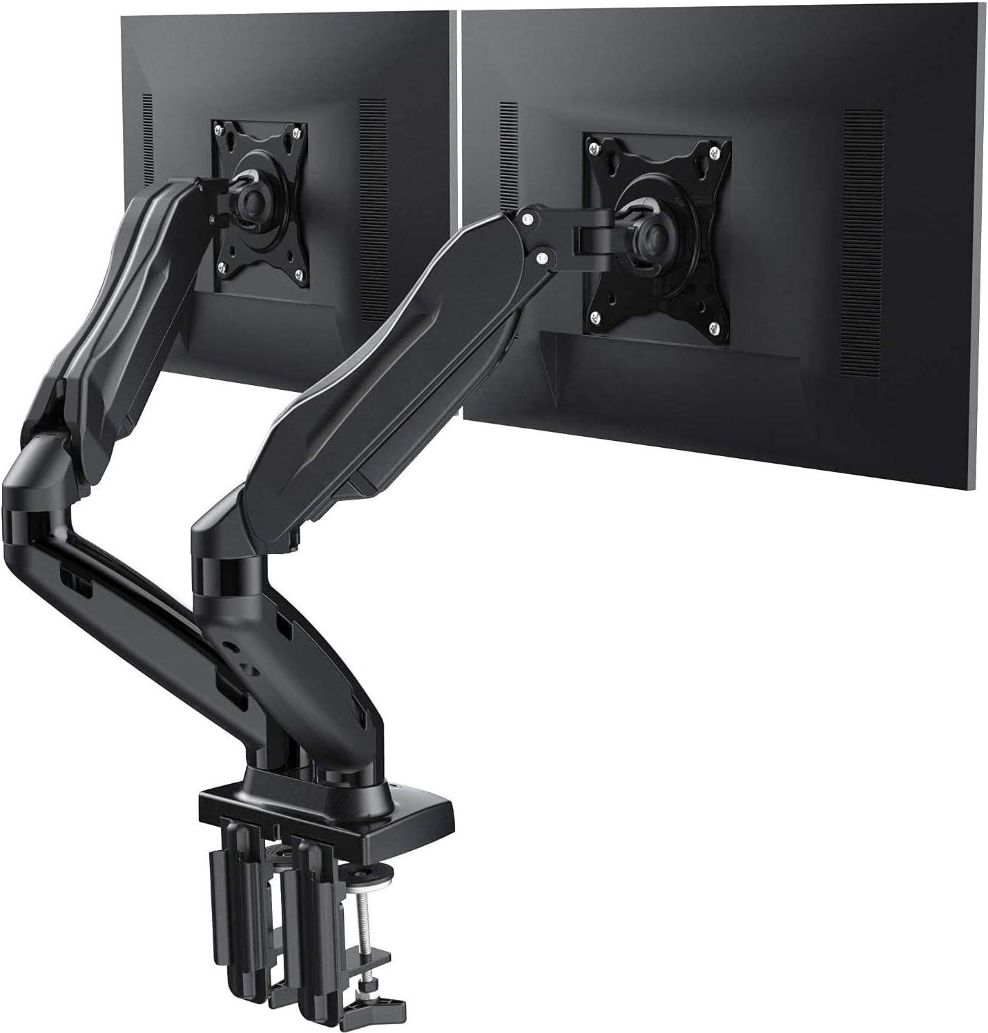 El Paso Mall Dual Monitor Stand - Adjustable Swivel Mount Cheap bargain Spring Desk