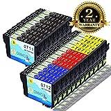20 Druckerpatrone T0711 Kompatibel mit Epson Stylus DX7450 DX8400 DX8450