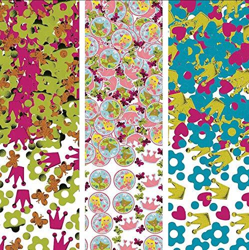 amscan International Confettis Woodland Princesse 361623 34 g (Lot de 3)