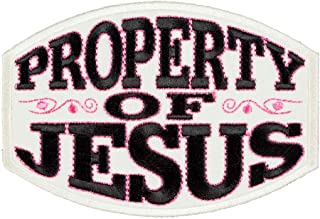 Property of Jesus Patch, Women's Christian Patches