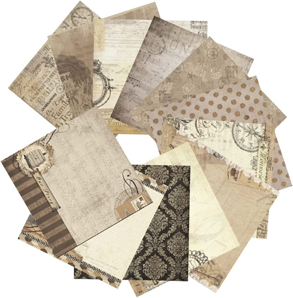 M STAR Scrapbook Paper Wholesale Scrapbooking Journaling Supplies Luxury Vintage