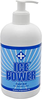 Ice Power, Gel para masaje y relajación - 400 ml.