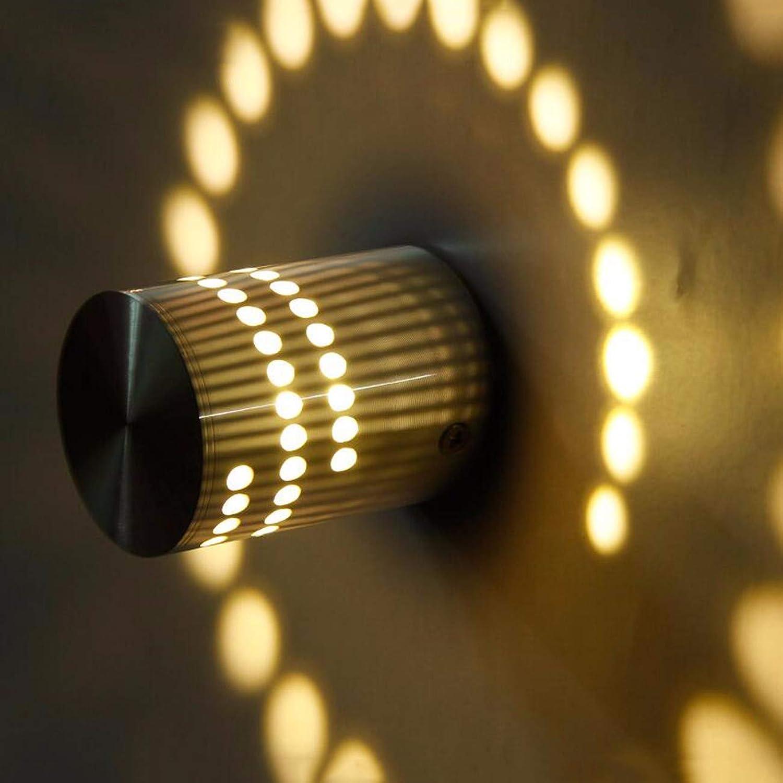SiwuxieLamp Wandleuchte Moderner Minimalist führte kreativer Persnlichkeitsbar-ktv-Stadiumshintergrund-Lichteffekt des Aluminiumgangganges, E Halterung Licht