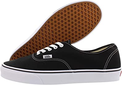 Vans Unisex Authentic Black Canvas VN000EE3BLK Skate Shoe