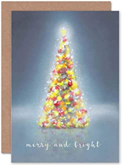 Wee Blue Coo Card Christmas Xmas Family Daughter Darling