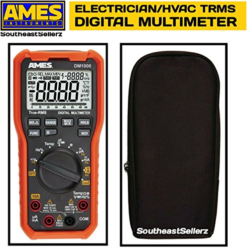 Ames Electricians HVAC Contractor TRMS Multimeter