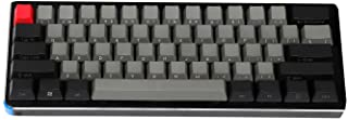 NPKC أسود رمادي مختلط Dolch سميك PBT 104 87 61 أغطية مفاتيح OEM الشخصية الرئيسية MX لوحة المفاتيح الميكانيكية 61 مجهولة