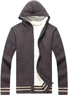 CUCUHAM men Fashion Knitted Cardigan Sweater Coat Fashion Warm Sweaters