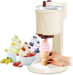 Machine À Crème Glacée avec Machine À Crème Glacée Molle De Compresseur pour Machine À Crème Glacée À La Maison Feuille D'...