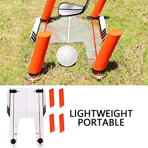 Golf Swing Trainer, trainingshulpmiddel Golfoefening Swing Path Plane Trap