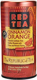 The Republic Of Tea Cinnamon Orange Red Tea, 36 Tea Bags