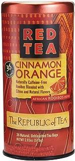 The Republic of Tea Cinnamon Orange Red Tea, 36 Tea Bags