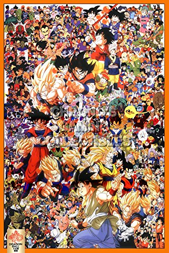 "CGC Huge Poster GLOSSY FINISH - Dragon Ball Z Anime Poster - DBZ020 (24"" x 36"" (61cm x 91.5cm))"