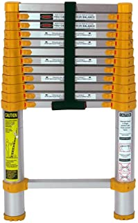 Xtend & Climb 770P Aluminum Telescoping Ladder Type II Home Series, 12.5-Foot